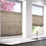 Raffrollo Küchenfenster Wohnzimmer Faltrollo Beige 60x130cm Bh 60x130 Cm Badezimmer Ohne Fenster Raffrollo Küche