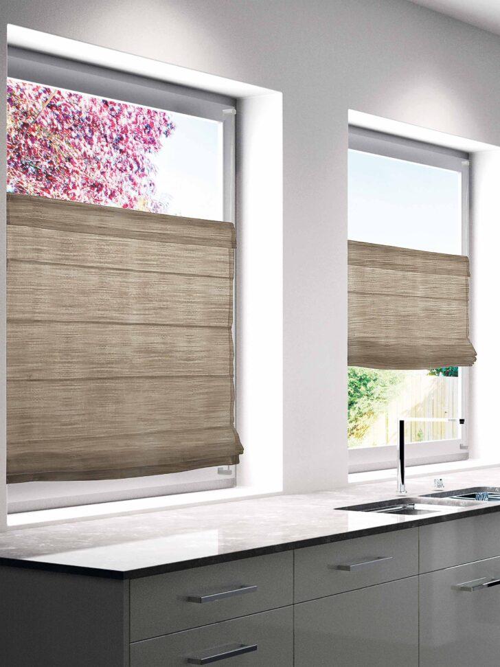 Medium Size of Faltrollo Beige 60x130cm Bh 60x130 Cm Badezimmer Ohne Fenster Raffrollo Küche Wohnzimmer Raffrollo Küchenfenster