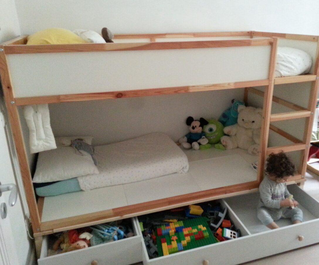 Large Size of Kura Bed Hack Storage Ikea Double Floor Montessori Drawers Bunk Instructions My For Two Gyerekszoba Wohnzimmer Kura Hack