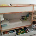 Kura Hack Wohnzimmer Kura Bed Hack Storage Ikea Double Floor Montessori Drawers Bunk Instructions My For Two Gyerekszoba