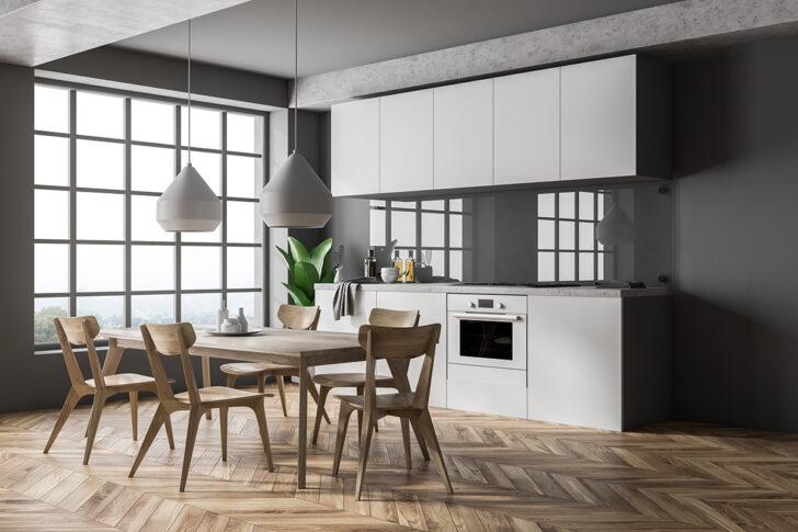 Medium Size of Weiße Küche Wandfarbe Wandgestaltung Kche 22 Ideen Fr Tapete Mit Streichen Günstige E Geräten Erweitern Tapeten Für Die Selbst Zusammenstellen Gebrauchte Wohnzimmer Weiße Küche Wandfarbe