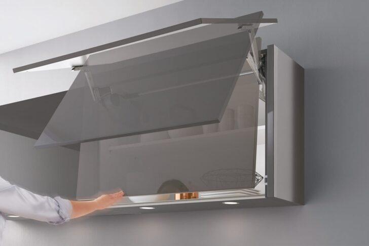 Medium Size of Küchen Hängeschrank Glas Design Einbaukche Norina 9555 Schiefergrau Hochglanz Lack Glasbilder Küche Esstisch Bad Weiß Rückwand Fenster 3 Fach Verglasung Wohnzimmer Küchen Hängeschrank Glas