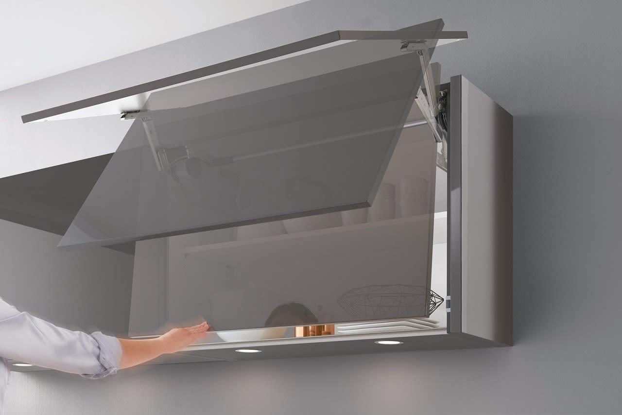 Full Size of Küchen Hängeschrank Glas Design Einbaukche Norina 9555 Schiefergrau Hochglanz Lack Glasbilder Küche Esstisch Bad Weiß Rückwand Fenster 3 Fach Verglasung Wohnzimmer Küchen Hängeschrank Glas
