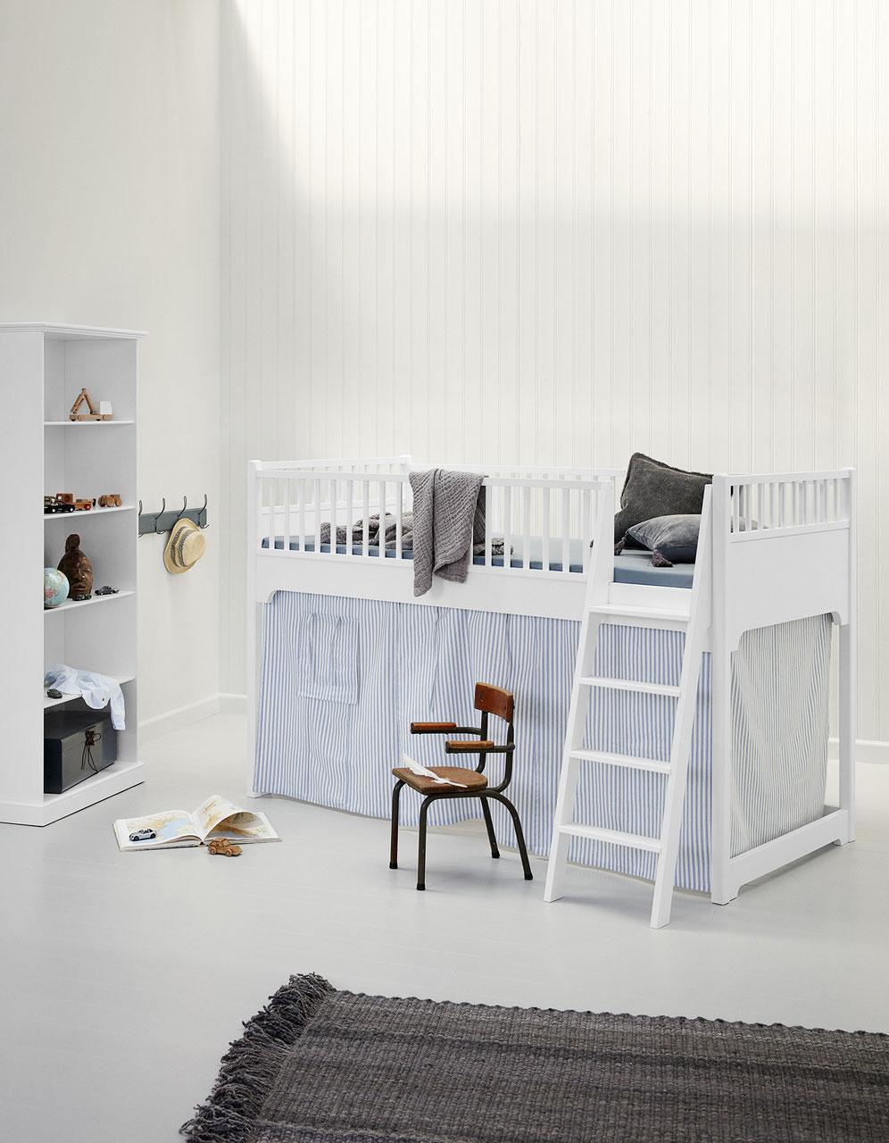 Full Size of Halbhohes Hochbett Oliver Furniture Seaside 90200 Cm Kind Bett Wohnzimmer Halbhohes Hochbett