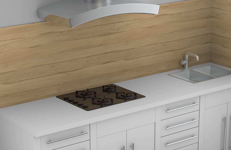 Full Size of By Polyrey 638937 Kchenrckwand Laminat Im Bad Küche Fürs In Der Badezimmer Für Wohnzimmer Küchenrückwand Laminat