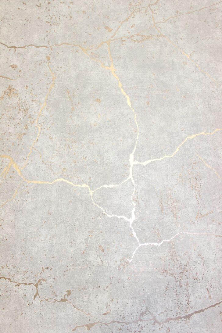 Medium Size of Wandgestaltung Tapeten Ideen Wohnzimmer Grau Vliestapete Kintsugi Optik Beige Rose Gold Metallic Graues Bett Lampe Indirekte Beleuchtung Deckenleuchte Wohnzimmer Wandgestaltung Tapeten Ideen Wohnzimmer Grau