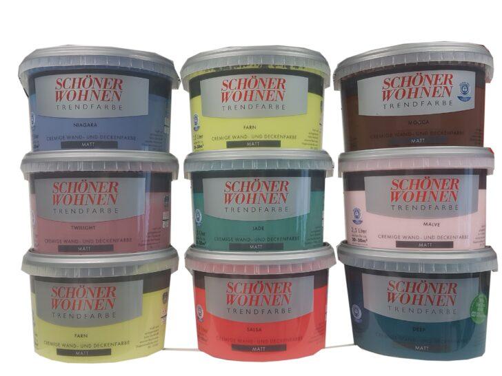 Medium Size of Klapptisch Schner Wohnen Trendfarbe Cremige Wand Und Real Küche Garten Wohnzimmer Wand:ylp2gzuwkdi= Klapptisch