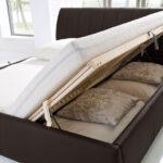 Stauraumbett 200x200 Wohnzimmer Stauraum Bett 200x200 Kunstlederbett Mit Bettkasten Und Lattenrost Komforthöhe Betten Weiß