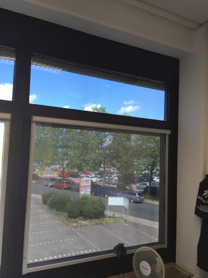 Medium Size of Sonnenschutzfolie Fenster Obi Innen Selbsthaftend Test Abdichten Aco Sonnenschutz Außen Günstige Einbruchschutz Nachrüsten Landhaus Felux Rundes Wohnzimmer Sonnenschutzfolie Fenster Obi
