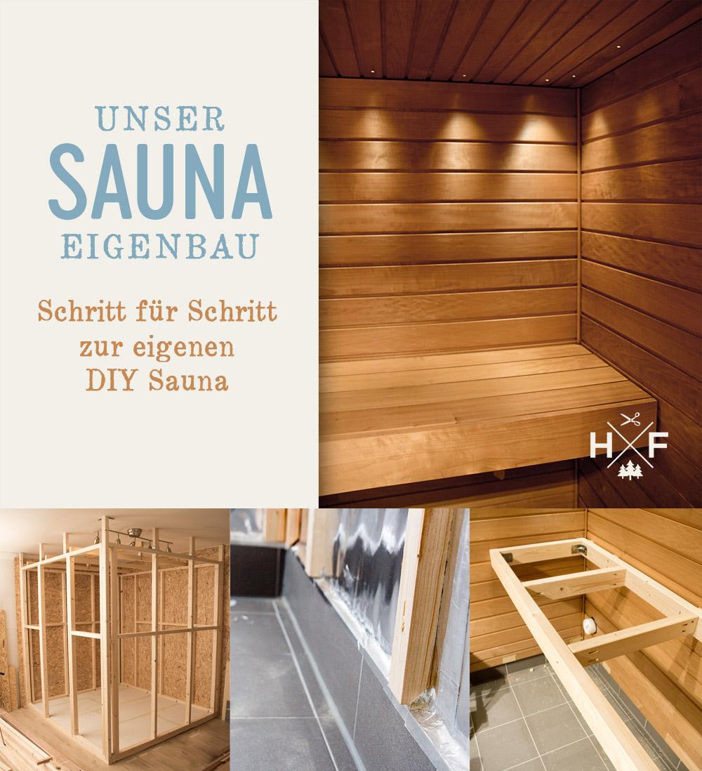 Full Size of Außensauna Wandaufbau Finnische Sauna Im Eigenbau Der Handgemacht Wohnzimmer Außensauna Wandaufbau