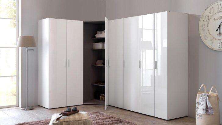 Medium Size of Kleiderschrank Eckschrank Schrankwand Malta Hochglanz Wei Bad Kunstleder Sofa Weiß Esstisch Oval Bett 90x200 140x200 Grau Weiße Betten Kommode Küche Wohnzimmer Eckschrank Weiß