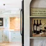 Landhauskche Avignon Mediterrane Kchen Abfalleimer Küche Pantryküche Mit Kühlschrank Was Kostet Eine Weiße Möbelgriffe Hochglanz Grau Anthrazit Landhaus Wohnzimmer Gemauerte Küche