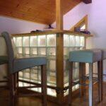 Diy Bar Mit Glasbausteine Dusche Einbauen Regale Selber Bauen Einbauküche Fliesenspiegel Küche Machen Fenster Rolladen Nachträglich Kosten Bett Wohnzimmer Küchentheke Selber Bauen