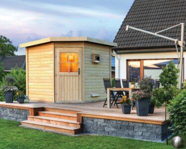 Außensauna Wandaufbau Wohnzimmer Außensauna Wandaufbau Saunahaus Pirva Online Kaufen Karibu
