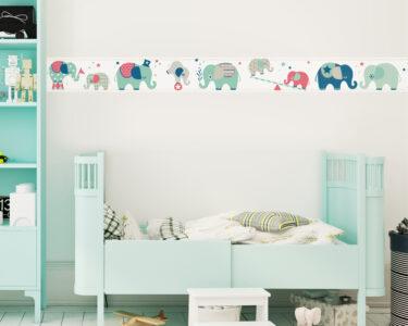 Wandgestaltung Kinderzimmer Jungen Wohnzimmer Wandgestaltung Kinderzimmer Jungen Selbstklebende Bordre Elefanten Boys Bordren Fr Regal Weiß Sofa Regale