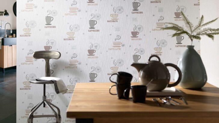 Medium Size of Tapete Küche Kaffee La Maison Erismann Cie Gmbh Ausstellungsküche Led Deckenleuchte Deko Für Sprüche Die Aluminium Verbundplatte Komplettküche Büroküche Wohnzimmer Tapete Küche Kaffee