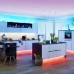 Lampe über Kochinsel Led Beleuchtung In Kche Stripes Von Paulmann Fr Küche Gartenüberdachung Mit Wohnzimmer Stehlampen überwurf Sofa Hängelampe Wohnzimmer Lampe über Kochinsel