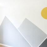 Wandgestaltung Kinderzimmer Jungen Ideen In Gelb Und Grau Bonny Kleid Regale Sofa Regal Weiß Wohnzimmer Wandgestaltung Kinderzimmer Jungen