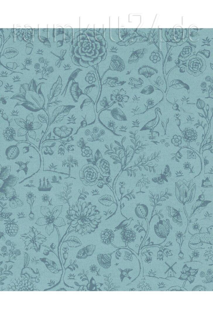 Medium Size of Retro Tapete Küche Eijffinger Pip 4 375012 Spring To Life Two Tone Blau Sitzecke Ohne Geräte Salamander Landhausküche Weiß Fliesenspiegel Selber Machen Wohnzimmer Retro Tapete Küche