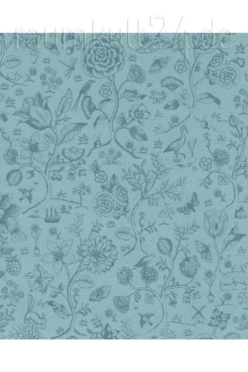 Full Size of Retro Tapete Küche Eijffinger Pip 4 375012 Spring To Life Two Tone Blau Sitzecke Ohne Geräte Salamander Landhausküche Weiß Fliesenspiegel Selber Machen Wohnzimmer Retro Tapete Küche