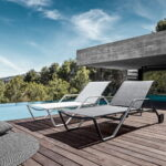 Liegestuhl Balkon Wetterfest Auflage Klappbar Garten Holz 180 Sonnenliege Von Gloster Connox Wohnzimmer Liegestuhl Wetterfest