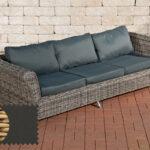 Couch Terrasse Wohnzimmer 3er Sofa Vivari Einzel Elemente Gartenmbel Balkon