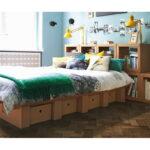 Ikea Pappbett Mbel Aus Pappe Vom Bett Bis Zum Bcherregal Küche Kaufen Betten 160x200 Modulküche Kosten Miniküche Bei Sofa Mit Schlaffunktion Wohnzimmer Pappbett Ikea