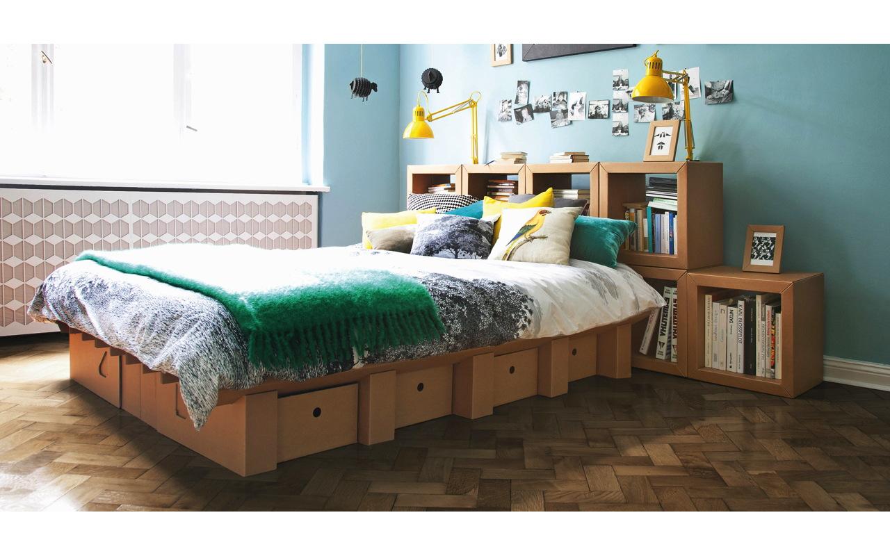 Full Size of Ikea Pappbett Mbel Aus Pappe Vom Bett Bis Zum Bcherregal Küche Kaufen Betten 160x200 Modulküche Kosten Miniküche Bei Sofa Mit Schlaffunktion Wohnzimmer Pappbett Ikea