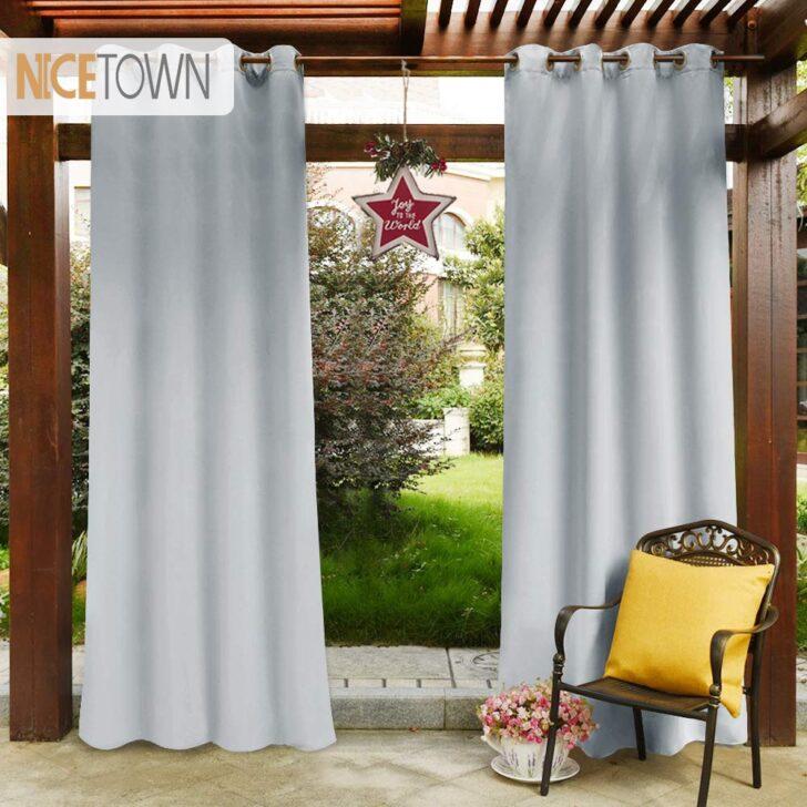 Vorhänge Wasserdicht Pergola Im Freien Blackout Vorhang Panel Vorhnge Schlafzimmer Wohnzimmer Küche Wohnzimmer Vorhänge