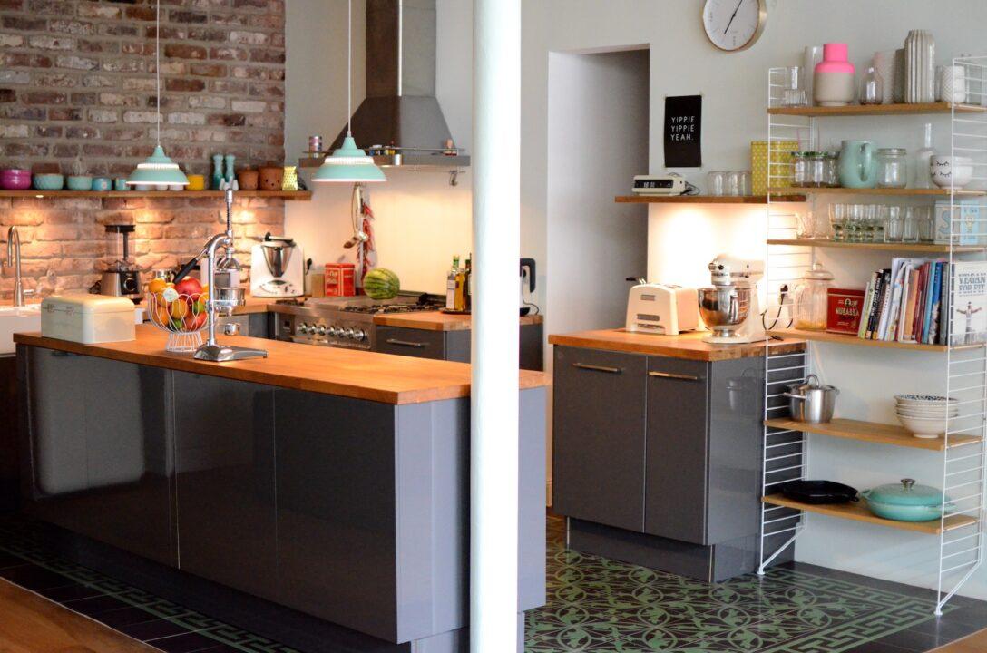 Large Size of Küche Offenes Regal Projekt Loftausbau Wie Man Eine Offene Kche Perfekt Ins Mit E Geräten Günstig Ikea Kosten Treteimer Arbeitsplatten Wasserhähne Wohnzimmer Küche Offenes Regal