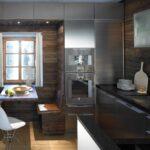Edelstahl Küchen Wohnzimmer Kche Mit Altholz Elementen Und Edelstahl Eleganz Werkhaus Outdoor Küche Edelstahlküche Gebraucht Küchen Regal Garten