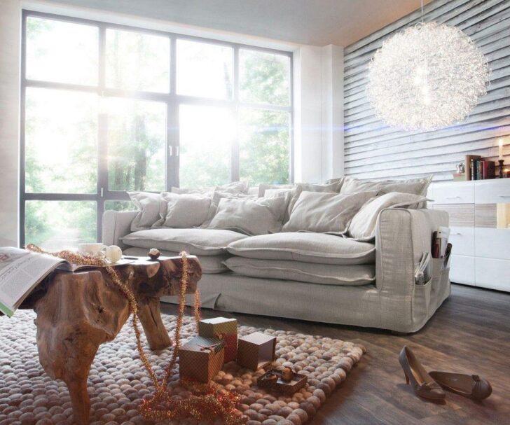 Medium Size of Big Sofa Kuschelige Wohnideen Bei Couch Garten Ecksofa Großes Bild Wohnzimmer Regal Bezug Mit Ottomane Bett Wohnzimmer Großes Ecksofa