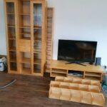 Ikea Wohnwand Tv Sideboard Echtholz Lackiert In Küche Kaufen Kosten Sofa Schlaffunktion Betten Bei 160x200 Wohnzimmer Wohnzimmerschränke Ikea