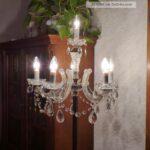 Wunderschne Antike Messing Kristall Stehlampe 6 Flammig Schlafzimmer Wohnzimmer Stehlampen Wohnzimmer Kristall Stehlampe
