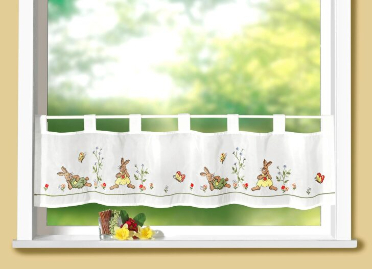 Medium Size of Kchengardinen In Vielen Hbschen Designs Im Bader Onlineshop Wohnzimmer Küchenvorhang