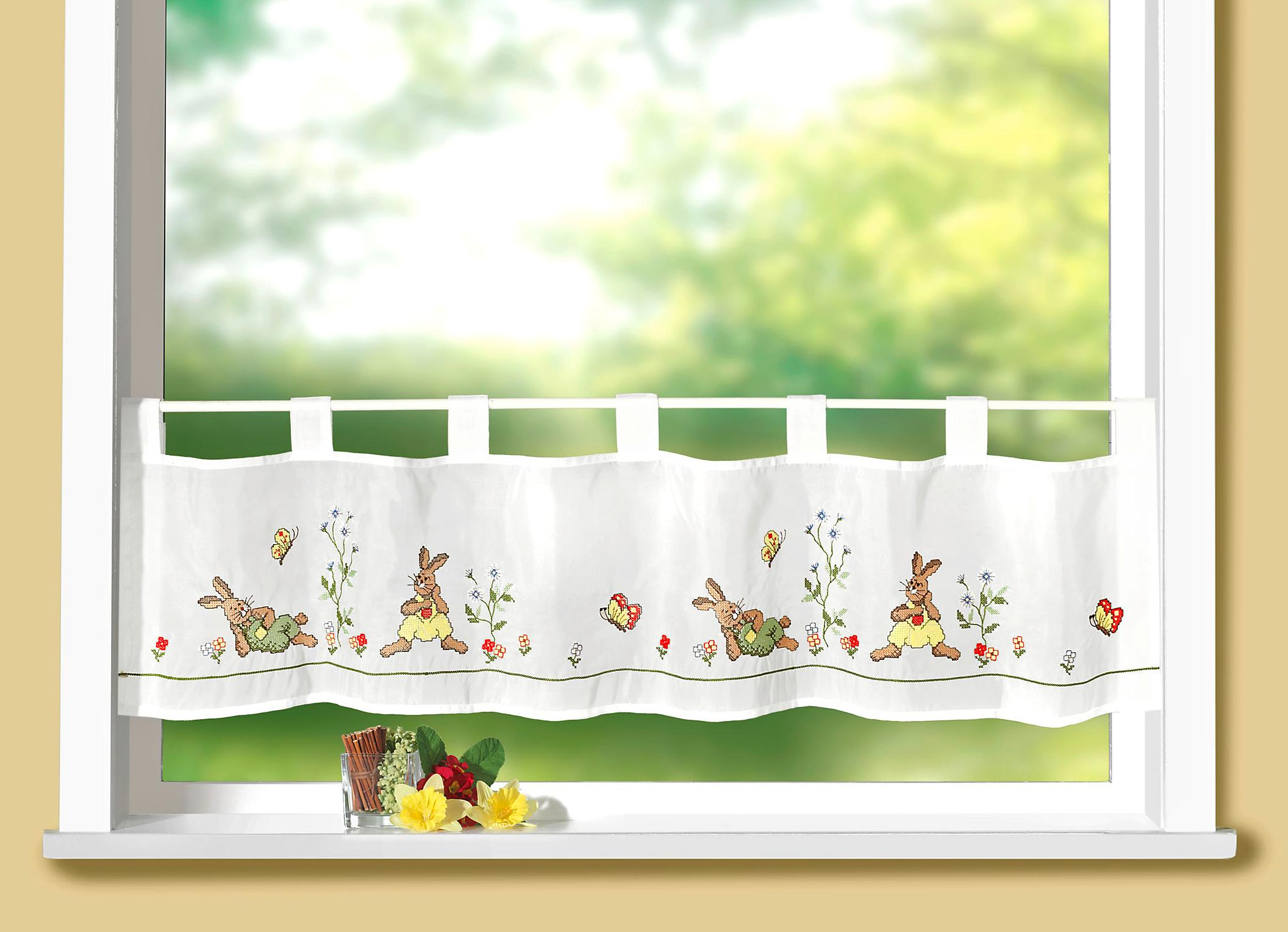 Full Size of Kchengardinen In Vielen Hbschen Designs Im Bader Onlineshop Wohnzimmer Küchenvorhang