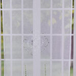 Balkontür Gardine Wohnzimmer Trbehang Scheibengardine Fertiggardine Real Wohnzimmer Gardinen Für Küche Die Schlafzimmer Scheibengardinen Fenster Gardine