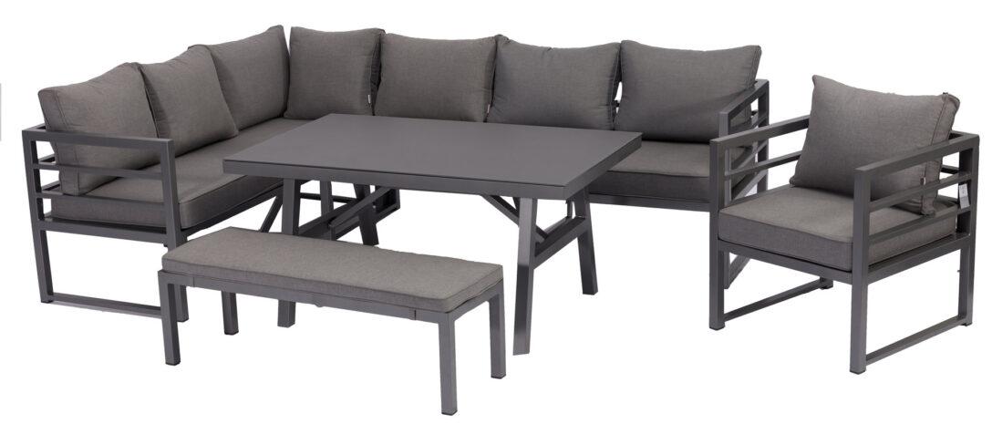 Large Size of Loungemöbel Aluminium Dining Eck Lounge Set Java Variabel Stellbar Sunbrella Bezug Garten Verbundplatte Küche Günstig Holz Fenster Wohnzimmer Loungemöbel Aluminium
