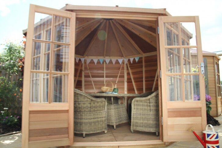 Medium Size of Holz Pergola Modern Selber Bauen Bausatz Kaufen Gartenhaus Broadwell Summerhouse Alton Greenhouses Glas Betten Massivholz Fenster Alu Garten Fliesen In Wohnzimmer Holz Pergola Modern