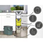 Müllsystem Wohnzimmer Müllsystem Rotho Albula Recycling Mllsystem Küche