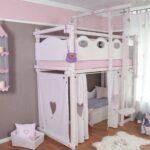 Hochbett In Wei Oliniki Wohnzimmer Mädchenbetten
