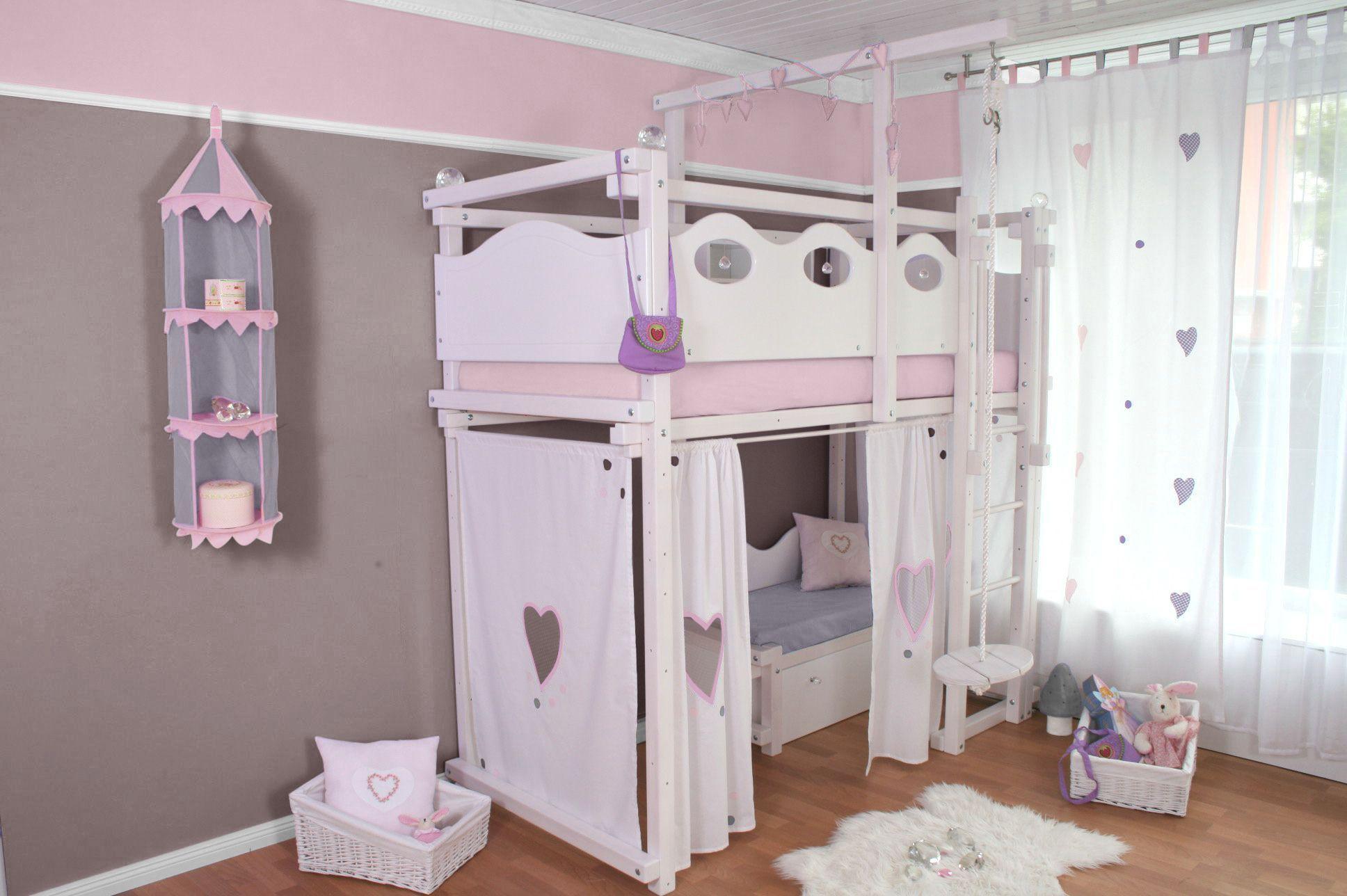 Full Size of Hochbett In Wei Oliniki Wohnzimmer Mädchenbetten