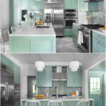 Von Wegen Sollte Eine Kche In Pastell Altmodisch Und Zuckers Sein Rückwand Küche Glas Billig Edelstahlküche Wandpaneel Winkel Planen Pentryküche Erweitern Wohnzimmer Küche Mint