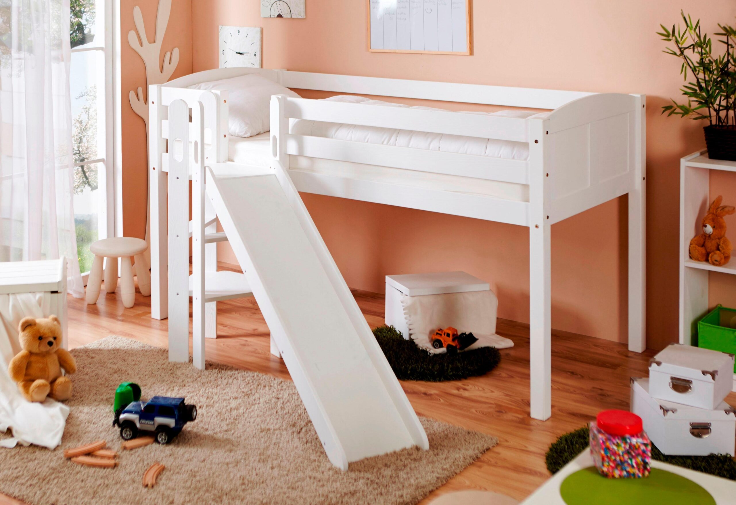Full Size of Mädchenbetten Ticaa Hochbett Ekki Kaufen Baur Wohnzimmer Mädchenbetten