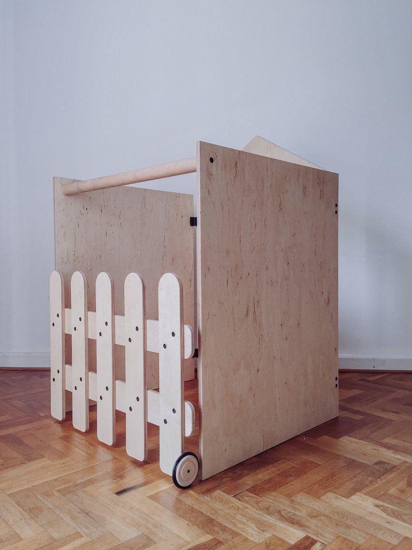 Full Size of Kidwood Klettergerüst Stadthus Das Klappbare Spielhaus Holzspielzeug Fr Garten Wohnzimmer Kidwood Klettergerüst
