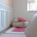 Rosa Küche Wohnzimmer Wandfarbe Rosa
