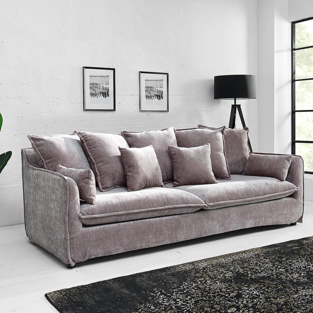 Large Size of Modernes Samt Sofa In Vielen Farben Online Kaufen Großes Regal Bett Garten Ecksofa Bezug Bild Wohnzimmer Mit Ottomane Wohnzimmer Großes Ecksofa