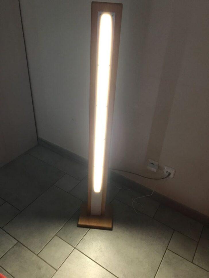 Medium Size of Holz Led Lampe Selber Bauen Stehleuchte Ein Projektvideo Und Leim Deckenlampen Für Wohnzimmer Pool Im Garten Lampen Küche Massivholzküche Deckenleuchte Wohnzimmer Holz Led Lampe Selber Bauen