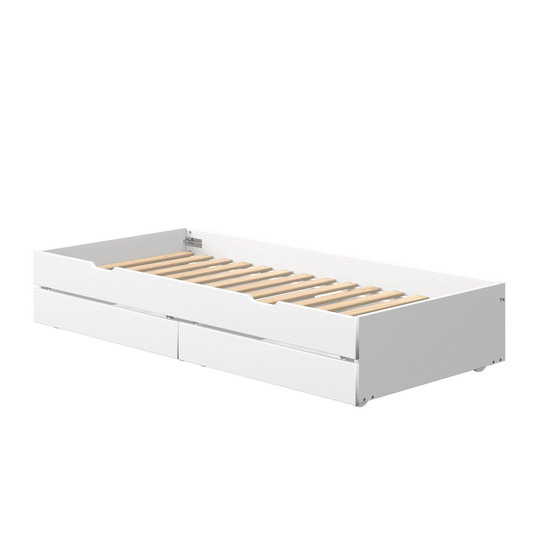 Full Size of Bett Mit Ausziehbett Ikea 140x200 Bettkasten Matratze Und Massiv Eiche 180x200 Schlafzimmer Betten Unterbett Team 7 München Boxspring Sofa Schlaffunktion Wohnzimmer Bett Mit Ausziehbett Ikea