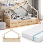 Bopita Bettschublade Wohnzimmer Bopita Bettschublade Belle Vitalispa Kinderbett Design Hausbett Mit Schubladen Und Lattenrost Bett